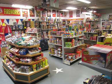 Iowa County, Wisconsin Fireworks Store