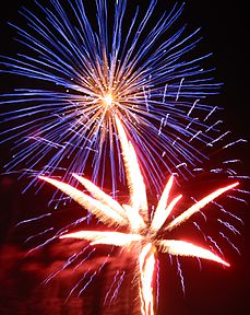 Kastner Fireworks Demonstration