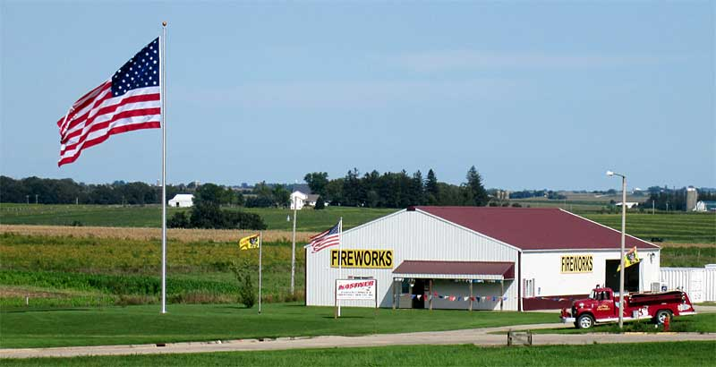 Wisconsin's Fireworks Store - convenient to Platteville, WI