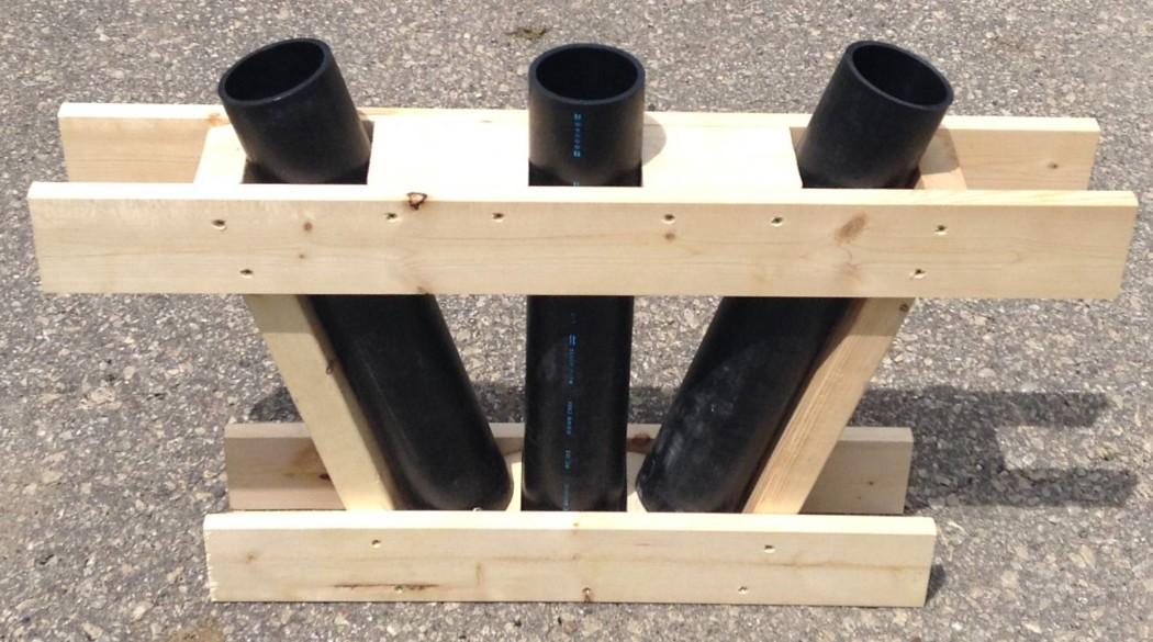hdpe-3-inch-3-shot-angle-rack